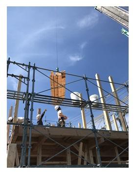 田町4丁目新築住宅建て方